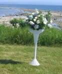 Summer Wedding Ceremony Arrangement